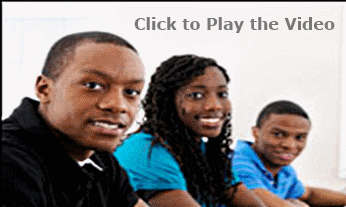 High School Students Learning
